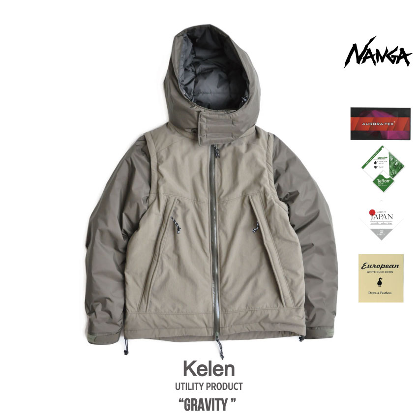 kelen x NANGA Exclusive DownJacket